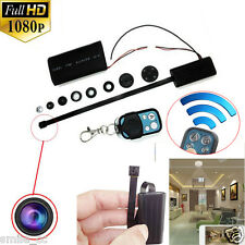 1080P HD DIY Module SPY Hidden Camera Video MINI DV DVR Motion w/ Remote Control