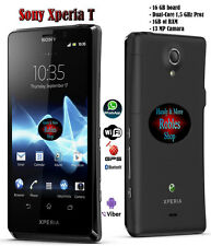 "Sony XPERIA T 16GB Dual Core (Ohne Simlock) WLAN 3G GPS 13MP 4,6"" HD Bravia TOP"