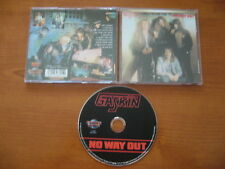 GASKIN NO WAY OUT CD 2008 KRESCENDO HEAVY METAL NWOBHM DIAMOND HEAD TOKYO BLADE