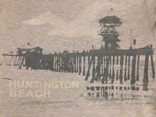 VINTAGE HOLLISTER - HUNTINGTON BEACH T SHIRT SMALL