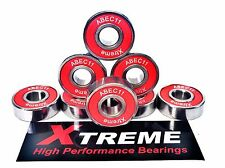 8 Pack 608 RS XTREME ABEC 11 ROSSI High Performance Cuscinetti Skateboard Longboard