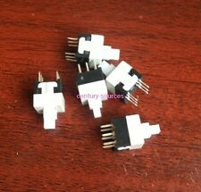 10PCS Push Button Switch ON/OFF DPDT 6 Pin DIP DC 8.5x8.5mm