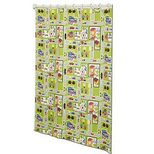 Around The Town PEVA Material Decorative Shower Curtain by Zenith Products