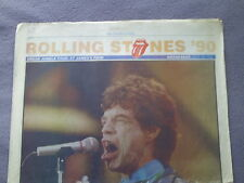 NORTHERN ECHO ROLLING STONES SOUVENIR SUPPLEMENT.NEWCASTLE 1990.URBAN JUNGLE