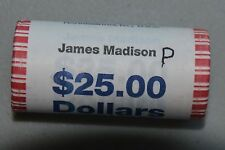 PRESIDENT James Madison  DOLLAR COIN ROLL  P