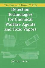 Detection Technologies for Chemical Warfare Agents and Toxic Vapors by