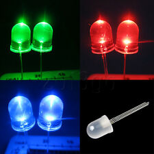 20pcs 10mm 4-pin RGB Diffused Common Cathode LED Tri-Color Red Green Blue HW