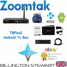 Android Box | Zoomtak T8Plus2 | 2GB RAM | KODI 16 | Android 6 | S912 | NEW MODEL