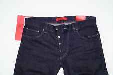 NEU - Hugo Boss - W34 L34 - RED 677/8 - Night Pure Denim - Regular Jeans - 34/34