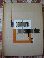 1961 La peinture contemporaine 1900-1960 Tome II Baschet L'illustration