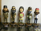 Duck Dynasty Duck Commander Bobble Heads Set of 5 Phil, Kay, Si, Willie, Jase