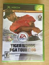 Tiger Woods PGA Tour 06 Xbox Golf Sports 2005 Factory sealed BRAND NEW