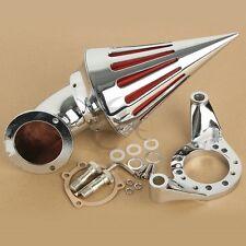 Kit-Cone Spike Air Cleaner Intake Filter For Harley CV Carburetor Delphi V-Twin