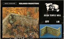 1/35 Verlinden #0977 Asian Temple Wall Ceramic Model Kit.