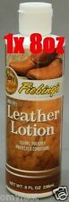 Fiebing's Wax Free Leather Lotion Protects Conditions Polish Clean 8oz