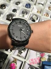 "Fossil BQ1277 SALE!! ""AUTOMATIC"" Analog, Date, Stainless Steel, NWT &Tin Case"