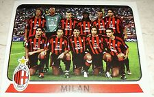 FIGURINA CALCIATORI PANINI 2003-04 MILAN SQUADRA ALBUM 2004