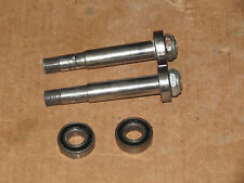 Handcycle 1/2 Inch Axle set - from a HED 3 wheelset - threaded racing wheelchair