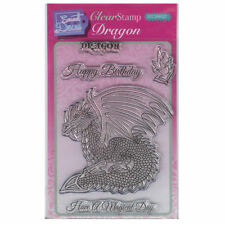 SWEET Dixie a6 Clear Stamp Set-sdcsa 6022 Dragon