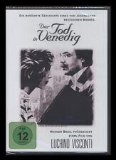 DVD DER TOD IN VENEDIG - FILMKLASSIKER von LUCHINO VISCONTI *** NEU ***