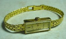 LADIES LONGINES WITTNAUER ROSS 14K SOLID GOLD WATCH Q375