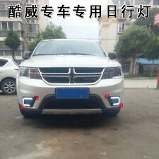 DRL LED Daytime Running Lights fog lamp fog light for Dodge Journey 2014 2015 2P