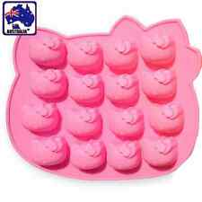 16 Hello Kitty Chocolate Cake Mold Mould Silicone Baking Biscuit DIY HKIMO 6160
