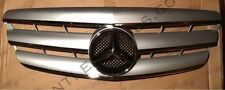 Mercedes W221 Grille S Class 2005-2009 Silver and Chrome AMG LOOK
