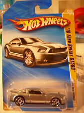 Hot Wheels '10 Ford Shelby GT500 2010 New Models Silver