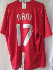 Manchester United 2006-2007 Home Nani 17 Football Shirt Size xl /34638