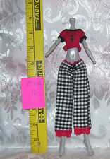 MGA CLOTHES OUTFIT SET FOR MONSTER HIGH GIRL DOLL LOT #16 PANTS & SHIRT