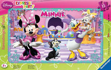 Disney Minnie Mouse Frame Tray 15 Piece Ravensburger Jigsaw Puzzle