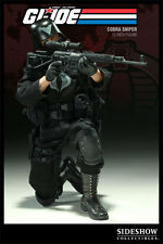 "Sideshow Toys Limited Edition: GI Joe - 1/6 Scale Cobra Sniper 12"" Figure, NEW"