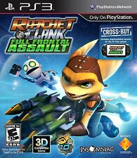 Ratchet & Clank: Full Frontal Assault [PlayStation 3 PS3, Cross-Buy, 3D] NEW