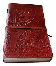 Large Ancient European Embossed Leather Journal /Instagram Photo Album -Handmade