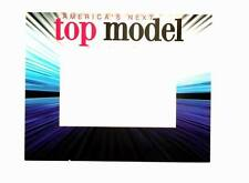 """Lot of 24 Pieces - """"America's Next Top Model"""" 5"""" x 7"""" Picture Frames with Easel"""