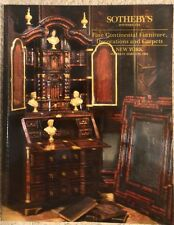 Sotheby's Fine Continental Furniture, Decorations and Carpets, New York, 1994