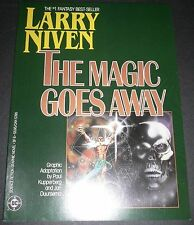 The Magic Goes Away Larry Niven Paul Kupperberg DC Graphic Novel 1986 LOT of 10