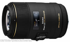 Sigma 105mm f/2.8 OS HSM DG EX Lens For Canon EOS EF dSLRs