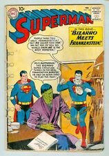 Superman #143 February 1961 G Bizarro Meets Frankenstien