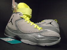 Nike Air Jordan 2012 WOLF GREY BLACK SILVER ICE WHITE VOLT NEON 484654-001 10.5