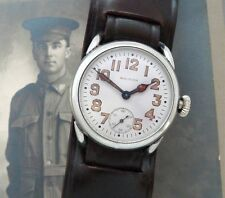 Men's WWI Era American Waltham Watch Co. Oversized Trench Watch - SERVICED