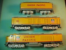 ALCO BRASS HO SCALE UNION PACIFIC GAS TURBINE LOCOMOTIVE ,TURBINE ,&TENDER # X-1