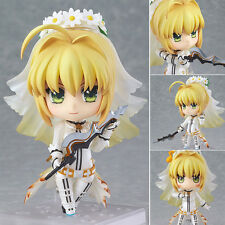 Anime Nendoroid Figure Toy Fate Stay Night Saber Action Figurine 10cm