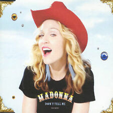 Madonna / Don't Tell Me [4 track Single CD]  Cyber-Raga / Mirwais Ahmadzai GREAT