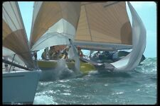 172036 Hauling In The Spinaker In The Heat Of The Battle Key West FL A4 Photo Pr