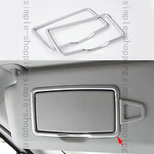 Front Roof Make-up mirror Cover Trim For Mercedes Benz CLA Class W117 C117 13-16