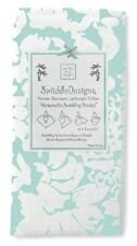 New SwaddleDesigns Marquisette  Swaddling Blanket LUSH SEA CRYSTAL Green gift
