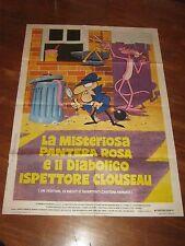 MANIFESTO,LA MISTERIOSA PANTERA ROSA E IL DIABOLICO ISPETTORE CLOUSEAU,1966