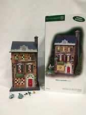 """DEPT 56 Christmas in the City """"Kelly's Irish Crafts"""" #59216 READ"""